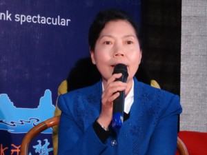 Ms Guo President Wuyishan Culture and Tourism Investment Group