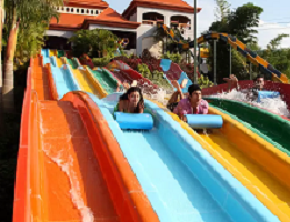 Water Slides Wonderla Park, Bangalore, India