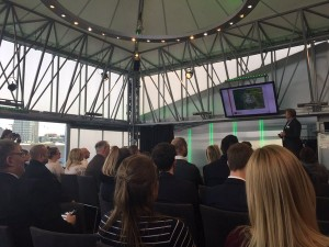 Attendees at #ThinkTank16 by Green4Solutions in London