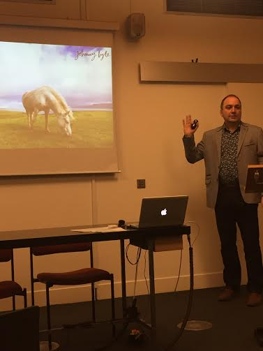Johnny Lyle on Branding speaking at the Gateway Ticketing UK Event