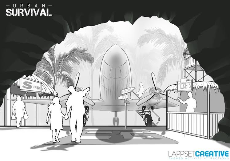 urban survival from lappset creative