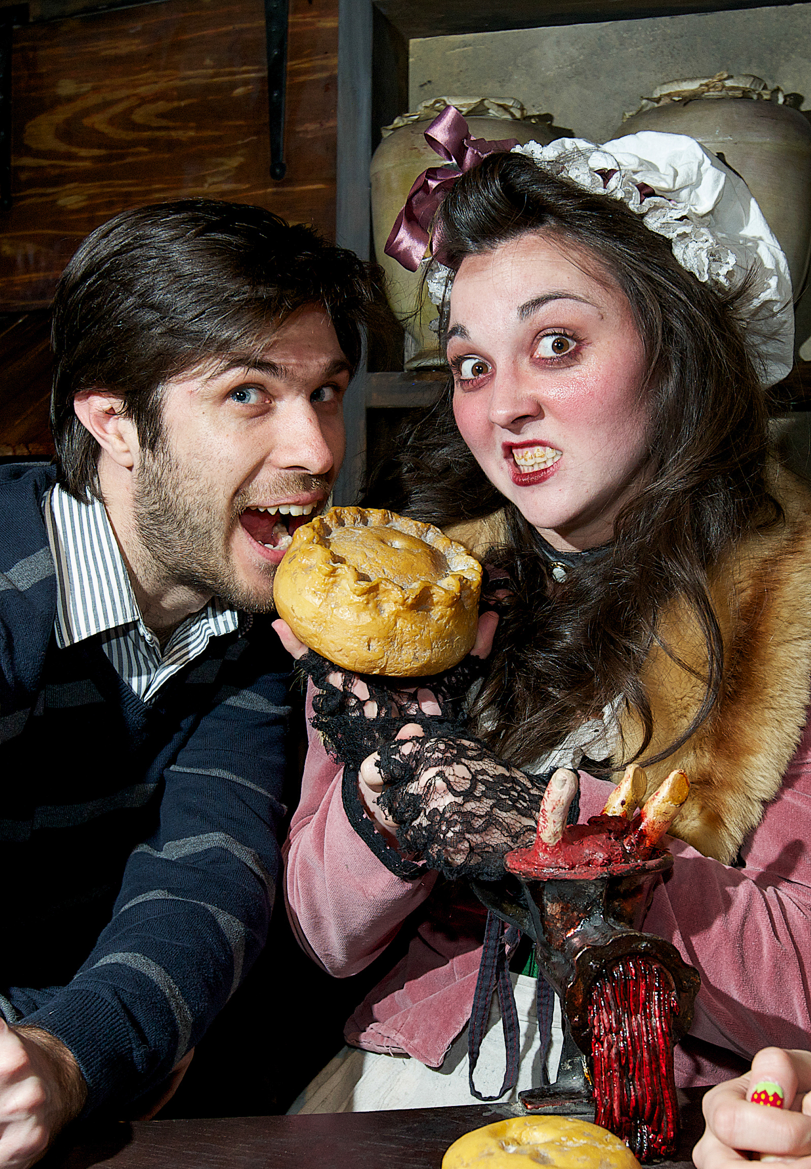 Mrs Lovetts Pies London Dungeons