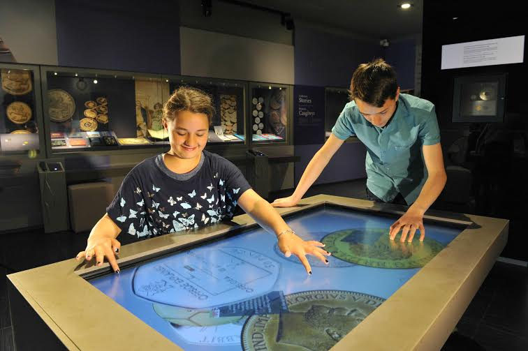 Royal Mint Experience kids interactive