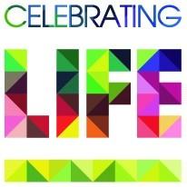 celebrating life logo