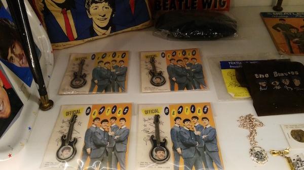 beatles memorabilia at the beatles story liverpool