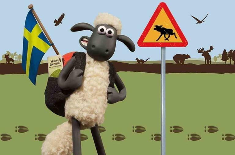 Shaun the Sheep's world at Skånes Djurpark