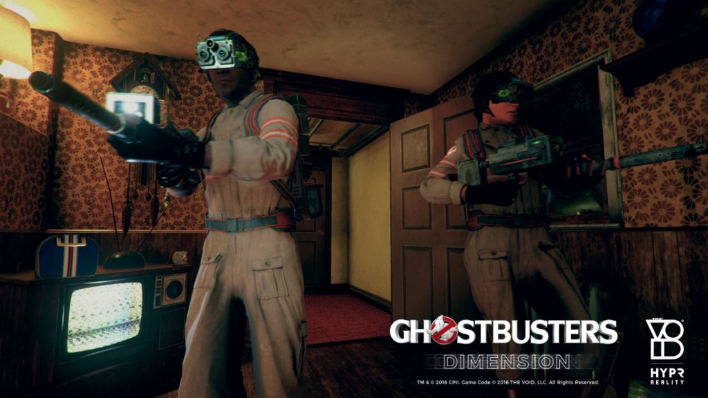 The VOID Ghostbuster VR at Madame Tussauds NY