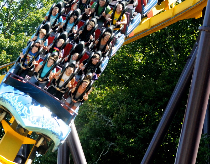 Scorcher rollercoaster Six Flags Over Georgia