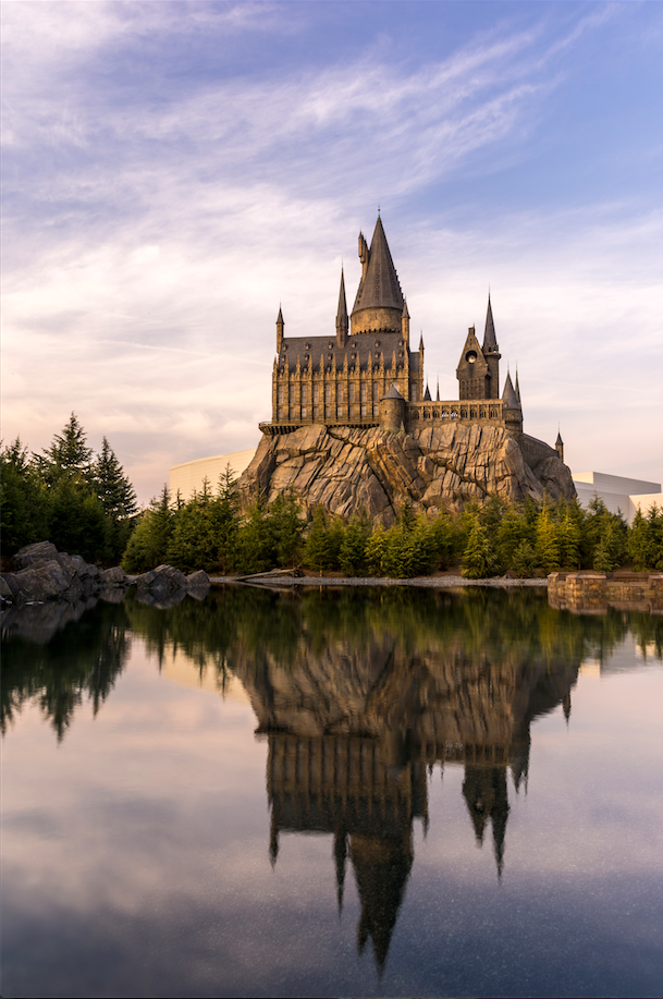 harry potter and the forbidden journey theme park 3D technology