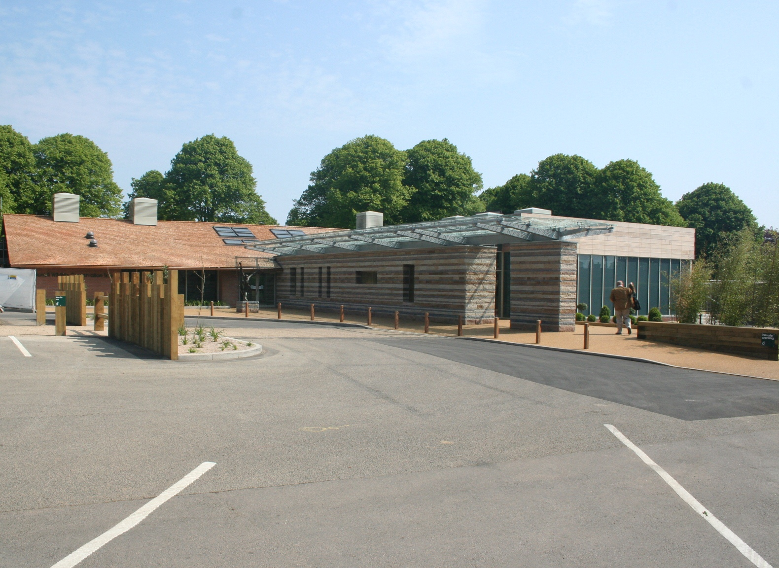 Durrell Wildlife Visitor Centre Ray Hole Architects