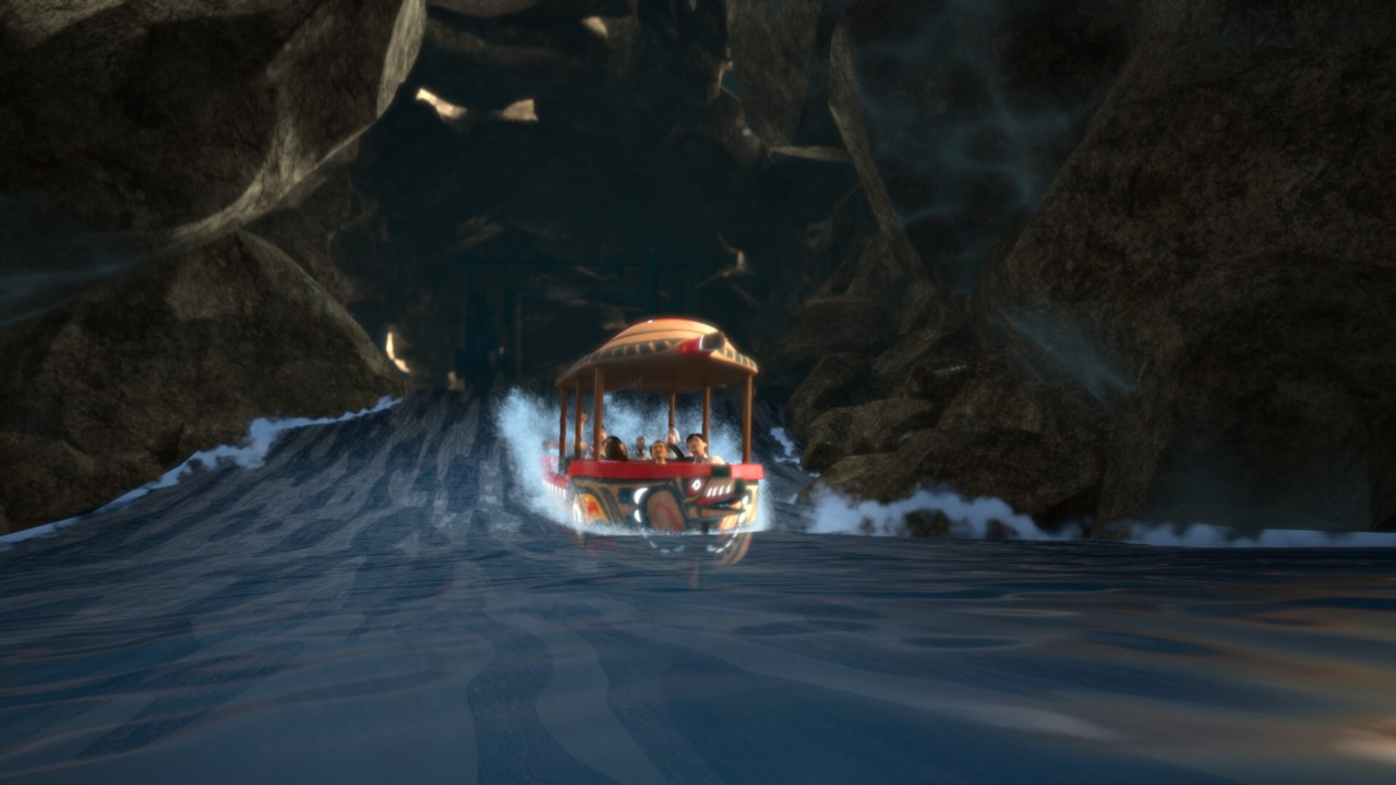 CAVU - Amazon Drift Dark Water Ride