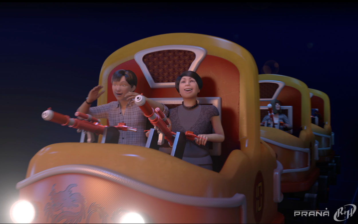 CAVU - Twist & Shoot Dark Ride