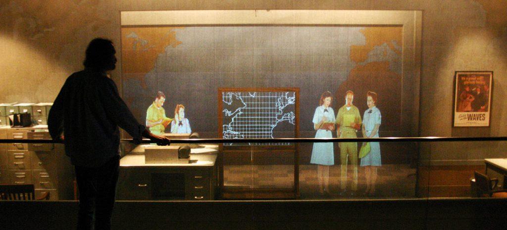 Holographic Display U-505: WAVES Exhibit Technifex