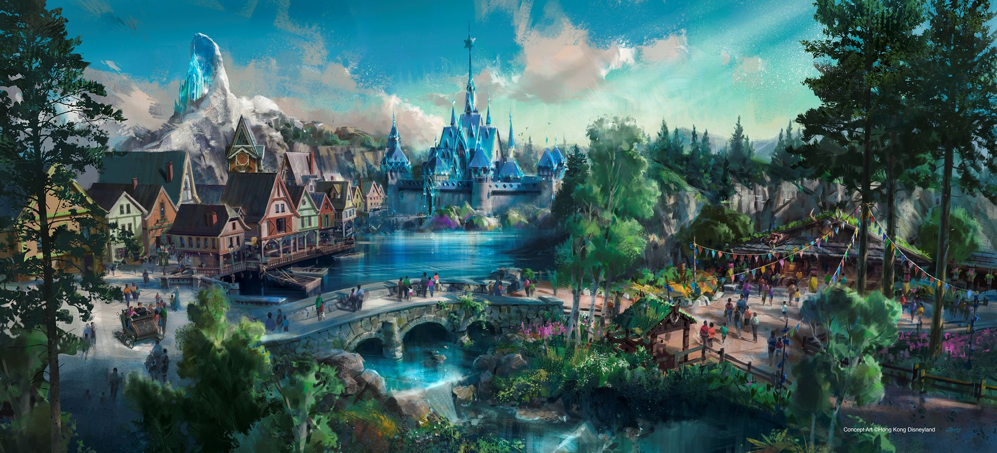 Hong Kong Disneyland Frozen zone