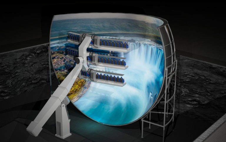 Simworx Partners Mondial to Launch New 360° Flying Theatre Attraction.