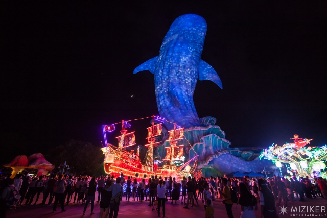 Chimelong Ocean Kingdom has an honourable mention on our list of the world's top theme parks of the decade