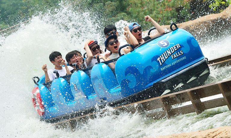 Super Flume at Everland Theme Park