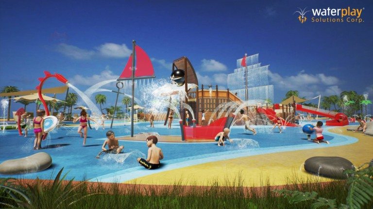 waterplay launches new generation of aquatic play products
