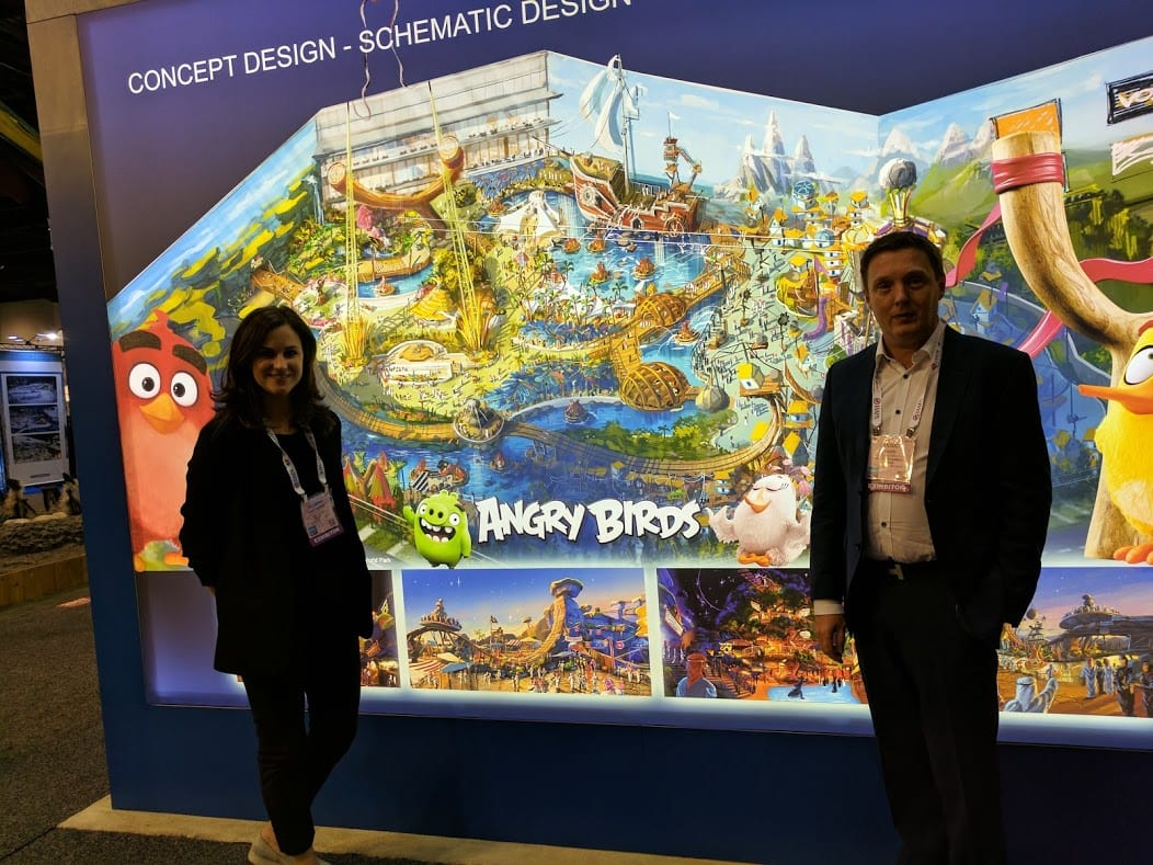Yasmine and Yannick at IAAPA2016