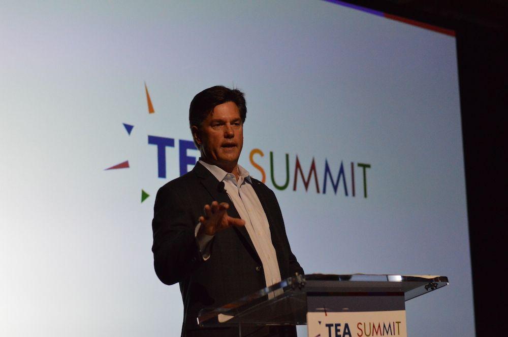 monty lunde at tea summit 2015
