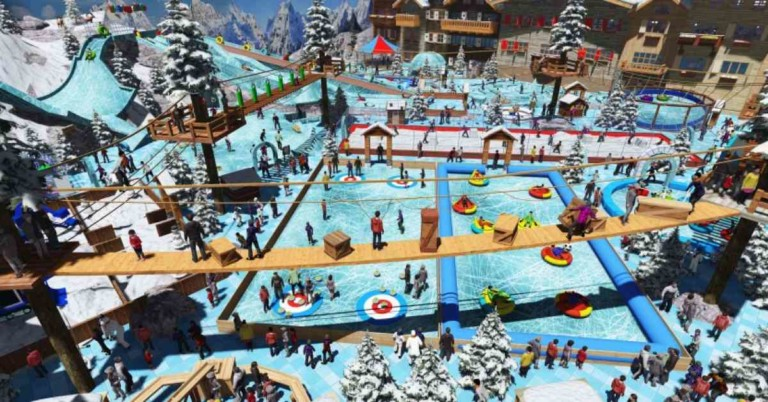 Snow Park, Oman, Palm Mall, Muscat, Unlimited Snow