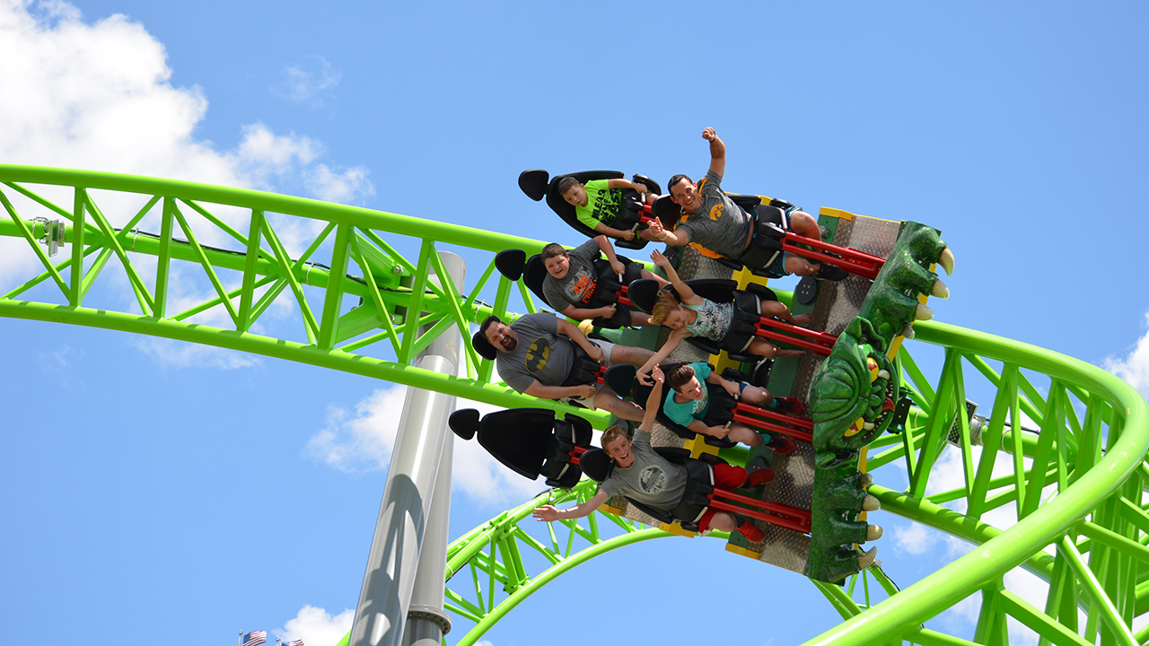 Ride Entertainment The Monster Infinity Roller Coaster Opens At Adventureland Altoona Blooloop