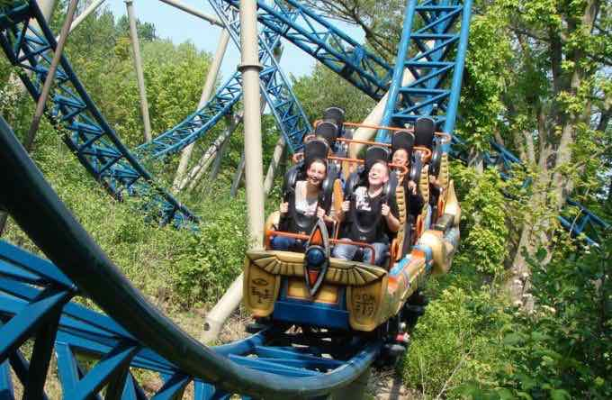 Anubis roller coaster belgian attraction plopsaland (1)