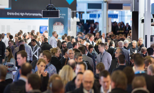 Integrated Systems Europe Crowd