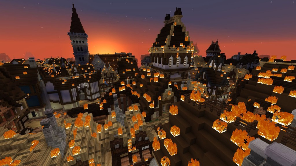 Minecraft gamifying museums, The Great Fire of London Blooloop