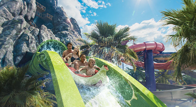 Volcano Bay Aqua Coaster Universal Resort