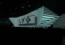 Adobe MAX Christie Boxers Light up 4K video mapping spectacular