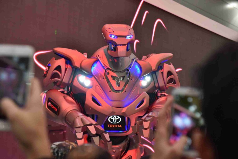Cyberstein Robots Unleash Titan at London's International Confex