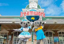 DreamWorld kenny belinda theme park