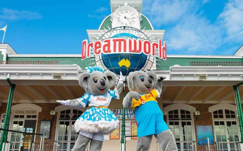 DreamWorld kenny belinda theme park ardent leisure