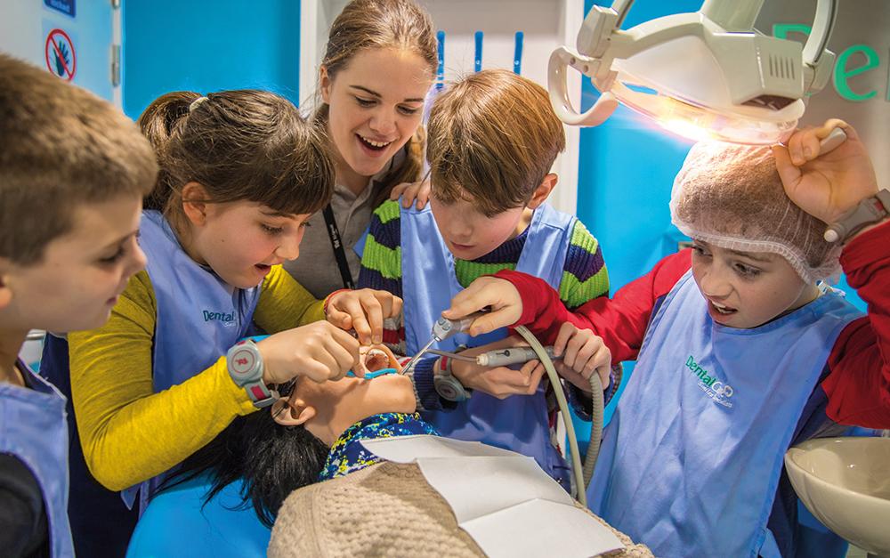 KidZania London dentist