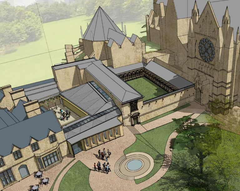 Lincoln Cathedral visitor centre