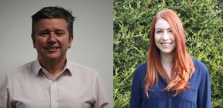 Picsolve Boosts Senior Management Team to Drive Business Growth Globally Mark White Sarah-Jane Nightingale