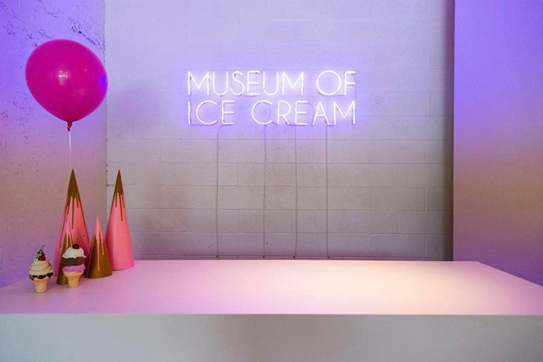 Museum of Ice Cream pop ups