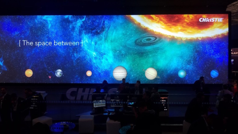 christie digital projector ise 2017
