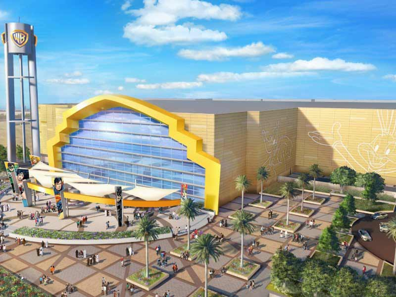 Warner Bros. World Abu Dhabi , Yas Island attraction development