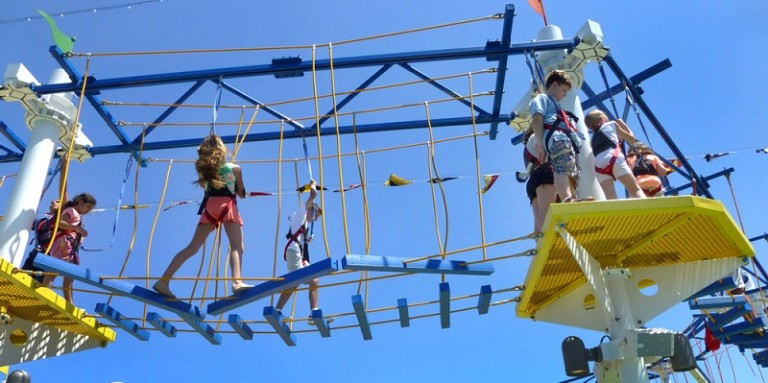 Expedition Carnival Breeze Ropes Course Inc Sky Trail ®