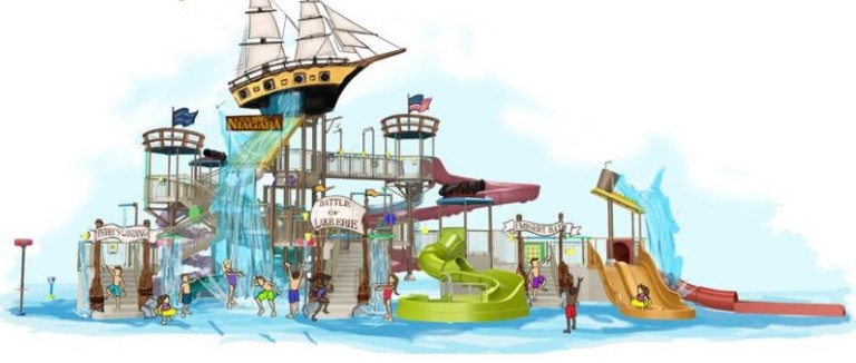 Waldameer WaterWorld to Create 'Battle of Lake Erie' Family Water Play Complex