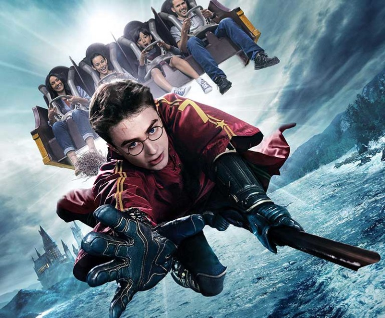 Harry Potter and the Forbidden Journey 4K-HD Universal Studios Hollywood 3D technology