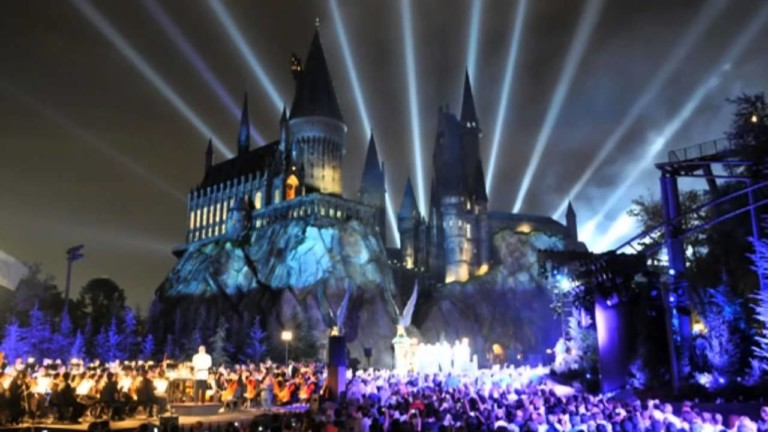 Harry Potter Projection Mapping Spectacular to Light Up Universal Studios Japan