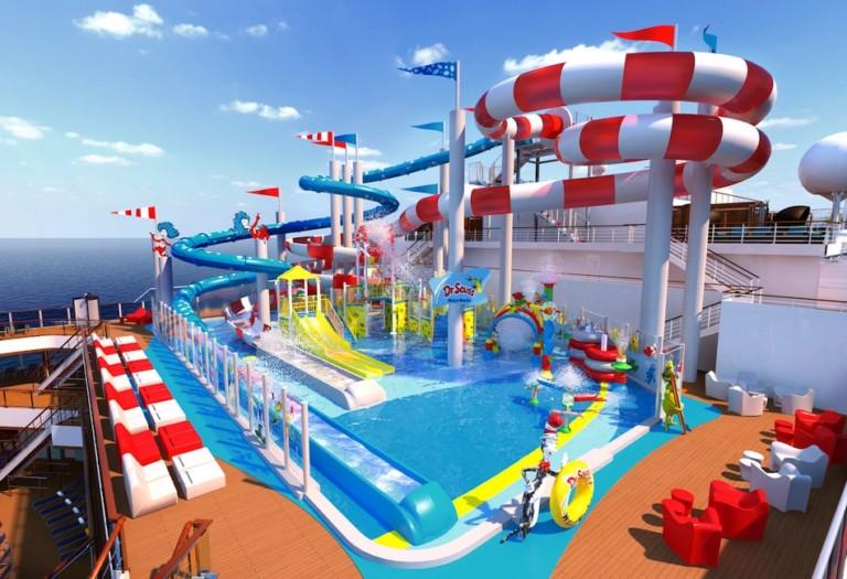 Carniva Cruise Line Horizon Dr Seuss Waterworks Waterpark