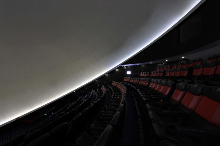 Christie Powers 3D Dome Theatre Virtual Flight Across Great Wall of China
