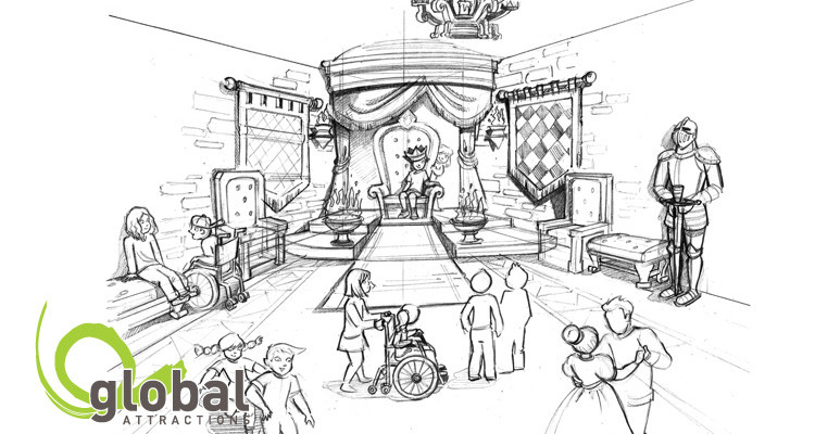 Edutainment Concept Art Global Attractions