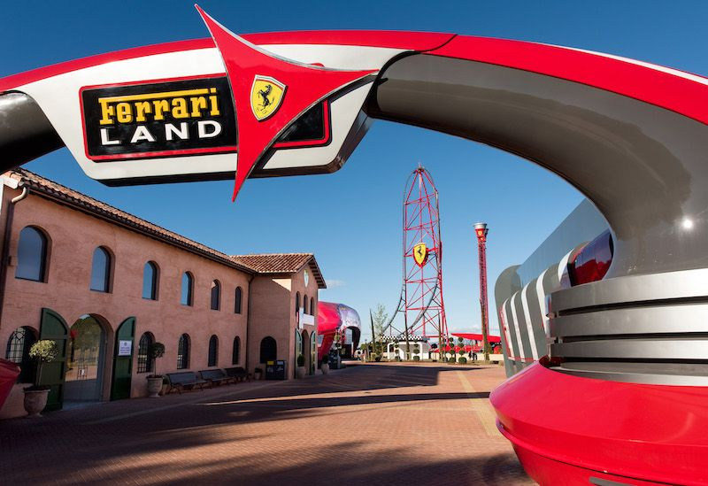 Ferrari Land Opens Today With Europe's Fastest Roller Coaster