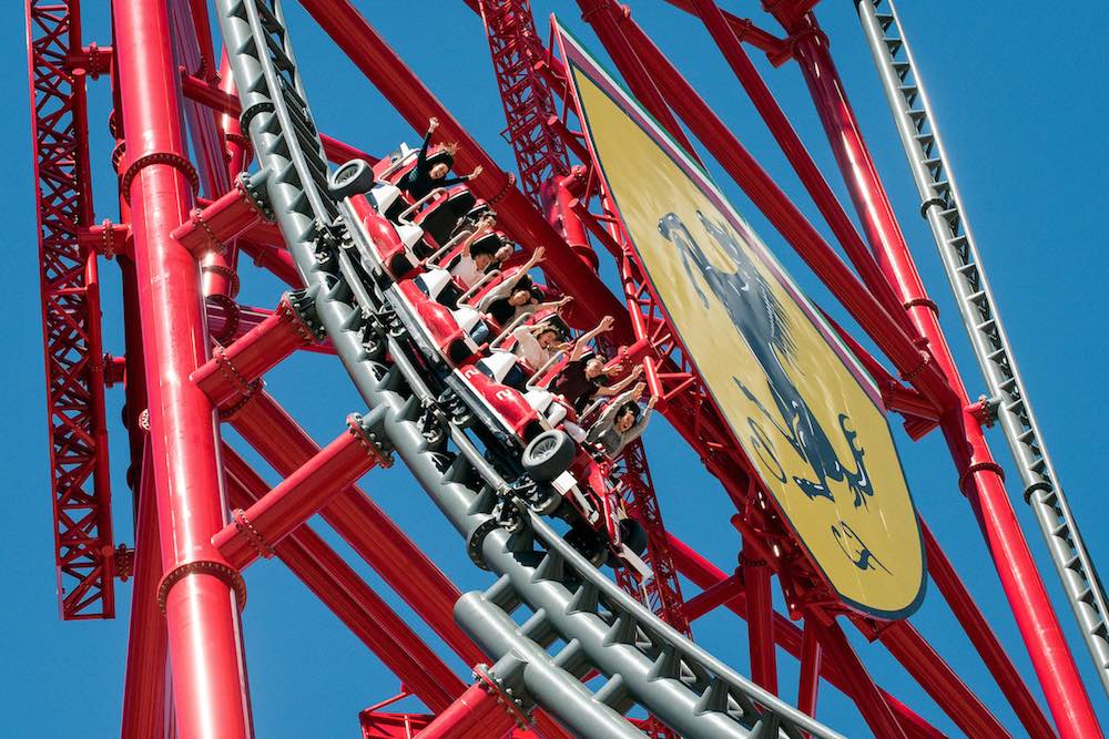 Ferrari Land opens for thrillseekers