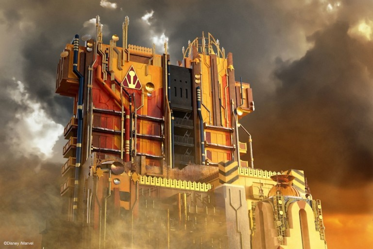 Disneyland Guardians-of-the-Galaxy-Mission-BREAKOUT exterior Disney